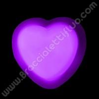 Spilla Fluorescente Cuore (1 pz)