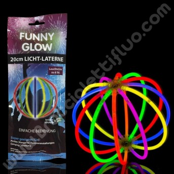 Sfera Fluorescente Monocolore Singola (1 pz)