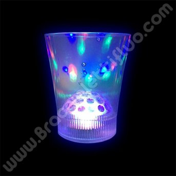 Bicchiere con Luce Led