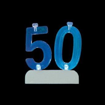 Candele e Numero 50 Led