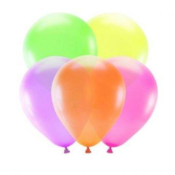 5 Palloncini Neon