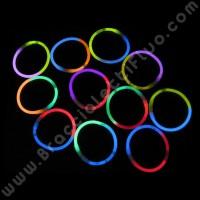 Braccialetti Fluo Bicolore (100 pz)