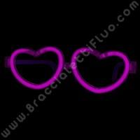 Gafas Luminosas Corazón Individuales (1 ud)