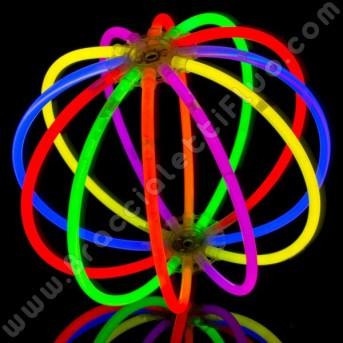 Sfere Fluo Monocolore (8 pz)