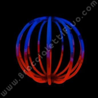 Sfere Luminose Bicolore (8 pz)